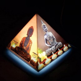 Amazing Buddha Pyramid Lamp