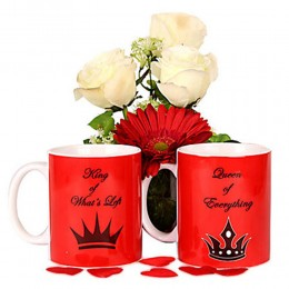 Love Is Fun Couple Mugs