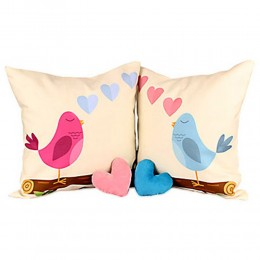 Young Love Couple Cushion