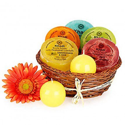 Heavenly Relaxing Soap Hamper
