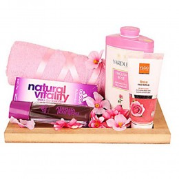Pink Essentials For Girl Hamper