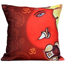 The Divine Lord Ganesha Cushion