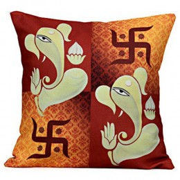 Lord Ganesha Cushion