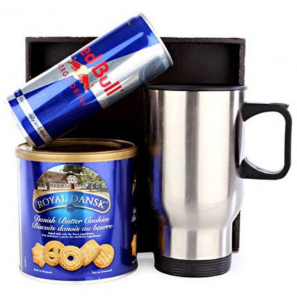 Red Bull and Cookies For Him