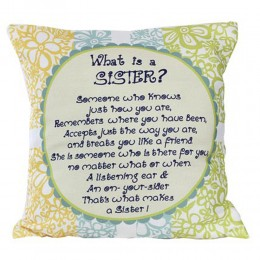 Sister Message Cushion