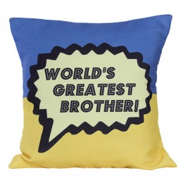 Worlds Greatest Brother Cushion