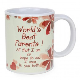Worlds Best Parents Mug