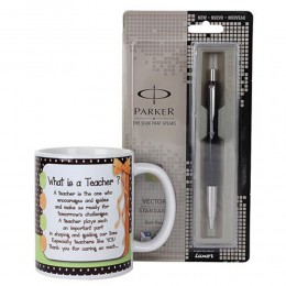 Pen and Mug For Teacher