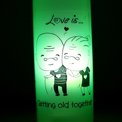 Growing Old Together Lamp