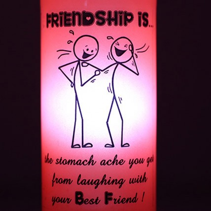 Laughing With Friends Lamp