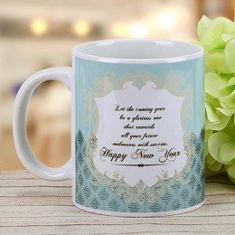 New Year Wishes Mug