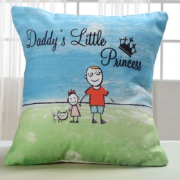 Dad Lil Princess Cushion