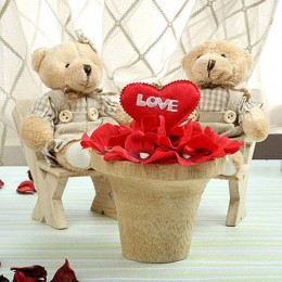 Teddy on Valentine Date