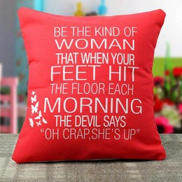 Womens Day Special Cushion