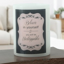 Believe In Yourself Candle