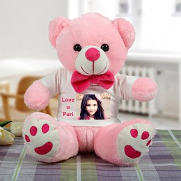 Pink Personalized Teddy
