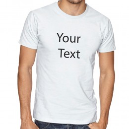 White Personalized T Shirt