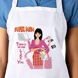 Apron For Super Mom