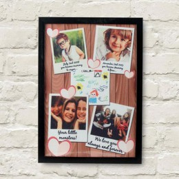 Personalized Cherishing Love Frame