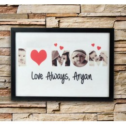 Personalized Love Alaways Frame