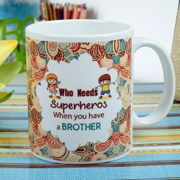 Superhero Brother Mug