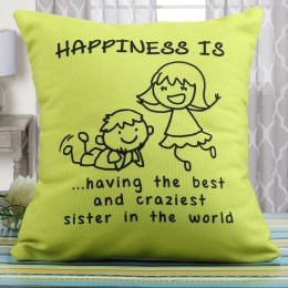 Happiness Cushion