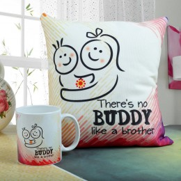 Mug N Cushion Buddy Combo