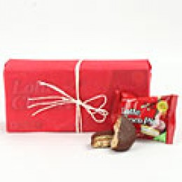 Lotte Choco Pie Box 168gm with gift wraping