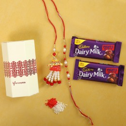 Fruit N Nut Chocolate With Designer Rakhis