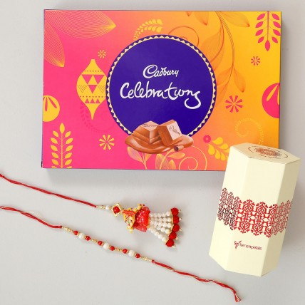 Cadbury Celebrations & Lumba Rakhi Combo