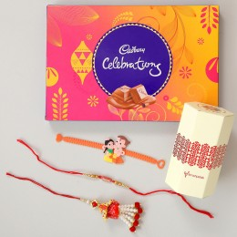 Family Rakhi Set & Celebrations Boxes