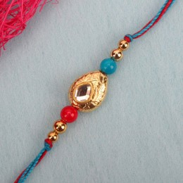 Perfection Kundan Rakhi