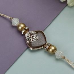 Adorning Brown Rakhi