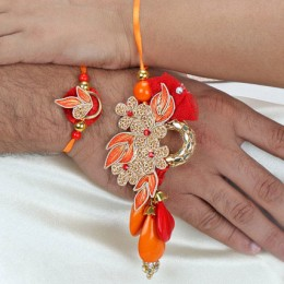 Trendy Lumba Rakhi Set