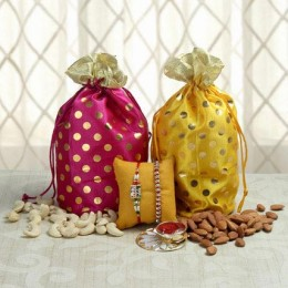 Two Rakhi Pretty Hamper