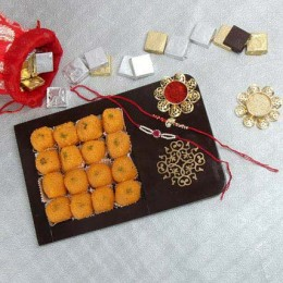 Twin Rakhi N Tasty Treat