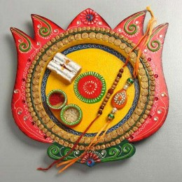 Lotus Rakhi Feast