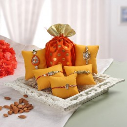 Best Buds 5 Rakhi Hamper
