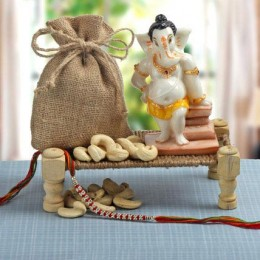 Ganesha N Dry Fruits Combo