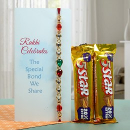 Chocolaty Rakhi Love