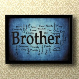 Expressive Brother Frame
