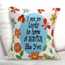 Lucky Sister Cushion