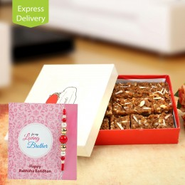 Loaded with sweet wishes-Rakhi