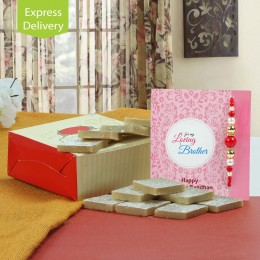 Sweet rakhi delight combo