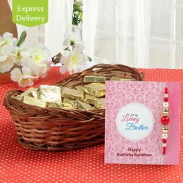 Premium Chocolate Hamper-Rakhi